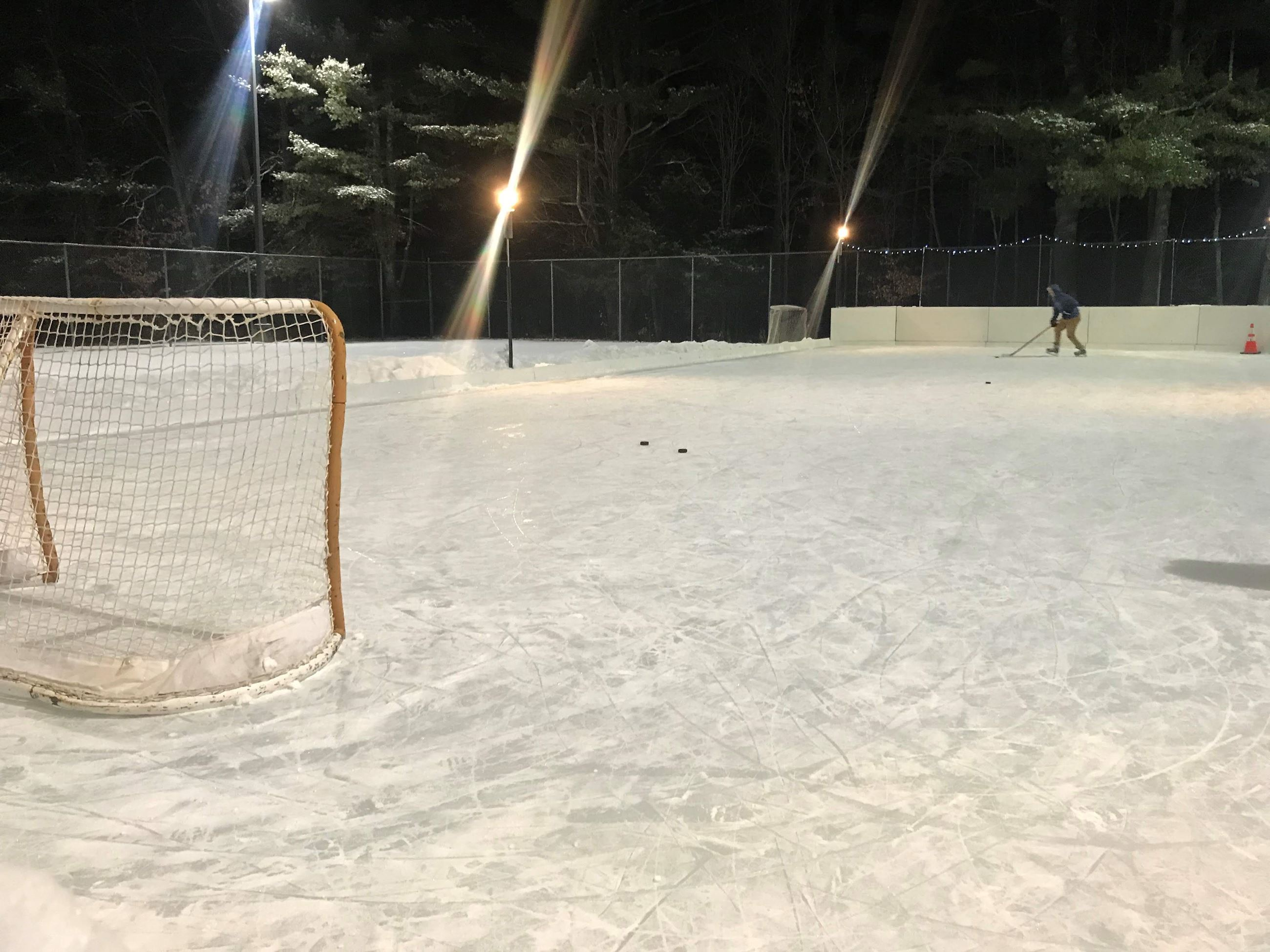 Recreation - Sand Hill ice rink